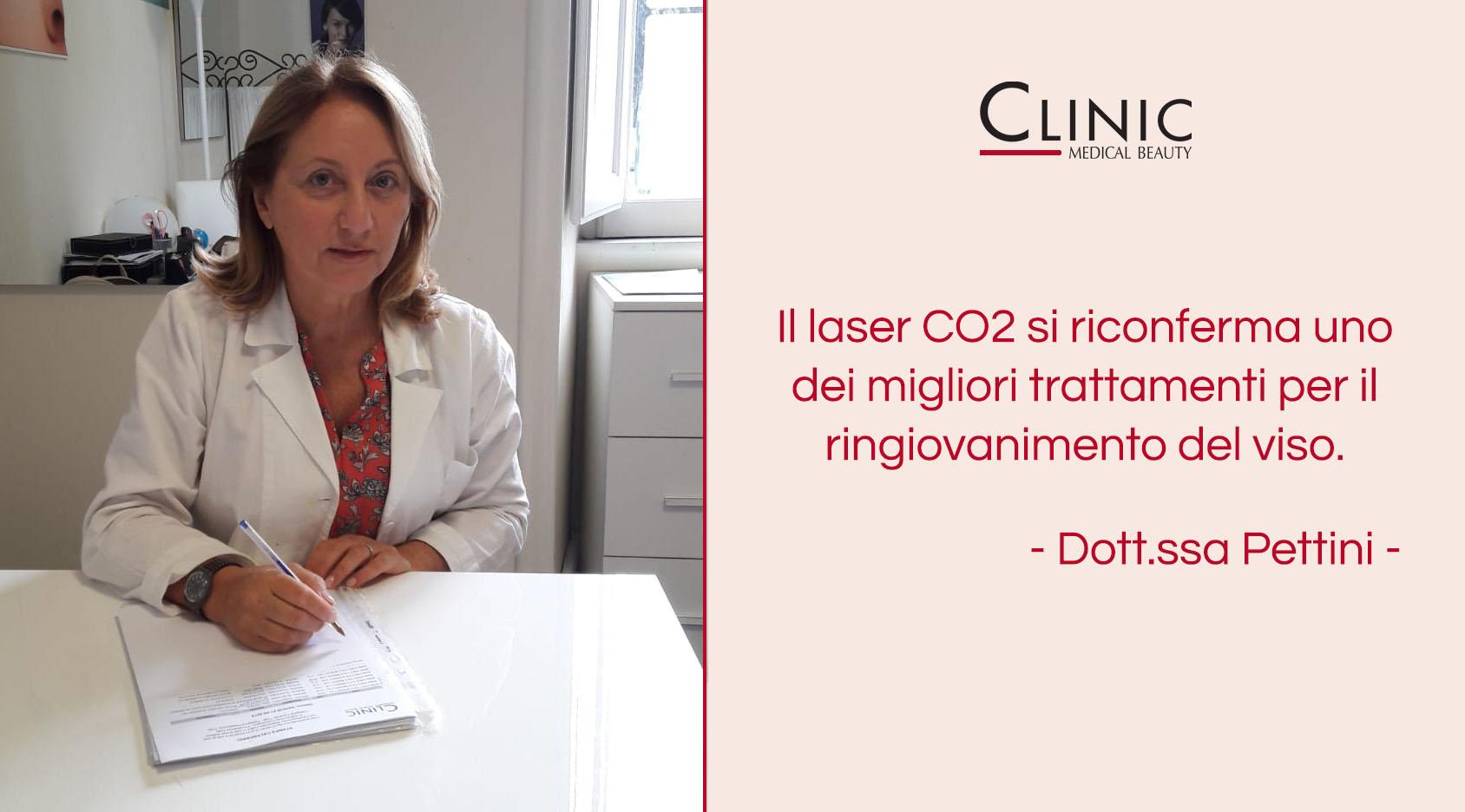 Pelle liscia e senza imperfezioni: il laser CO2 con la Dott.ssa Pettini